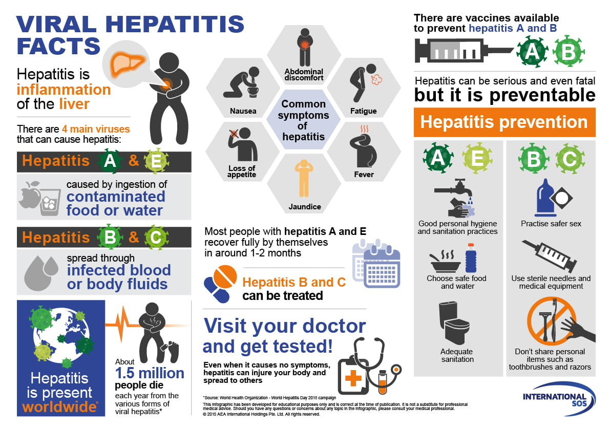 hepatitis infographic